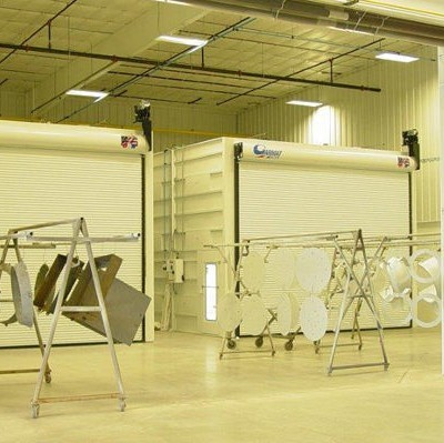 aerospace spray booths