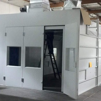 custom paint booths