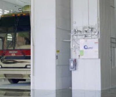 truck and rv spray booth