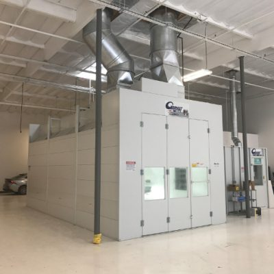 garmat spray booth for gt collision