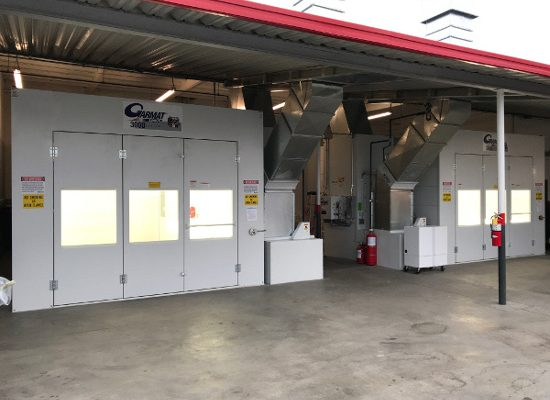 Featured Product: Garmat USA's 3000 Series Downdraft Spray Booth