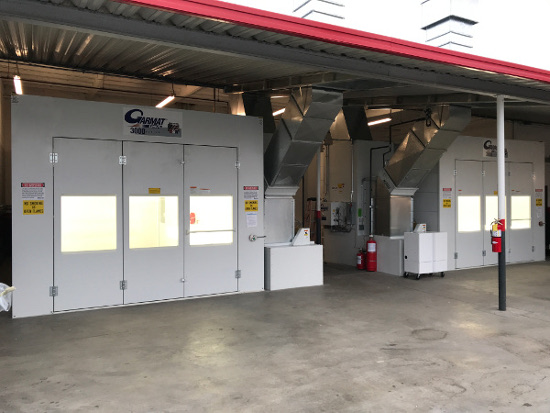 Spray Booth Construction And Installation In Downey