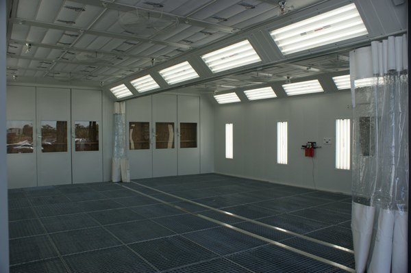 Auto Body Repair Shop >> Collision repair spray booths and finishing systems for ...