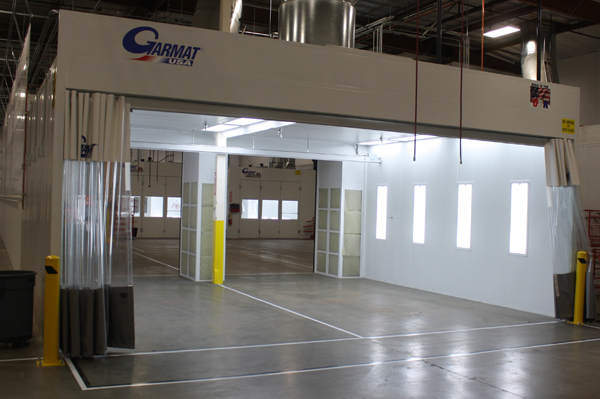 Custom Spray Booths Paint Booths And Finishing Systems