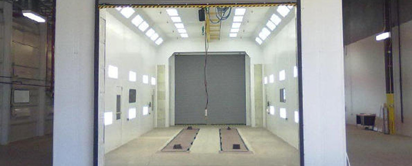 government spray booths