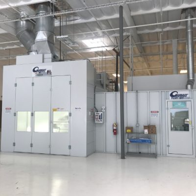 collision repair spray booth for gt collision