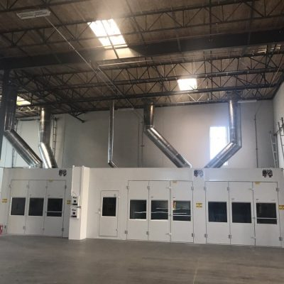 collision repair paint booth