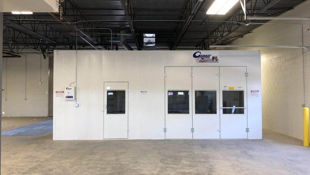 garmat down draft paint booth arizona